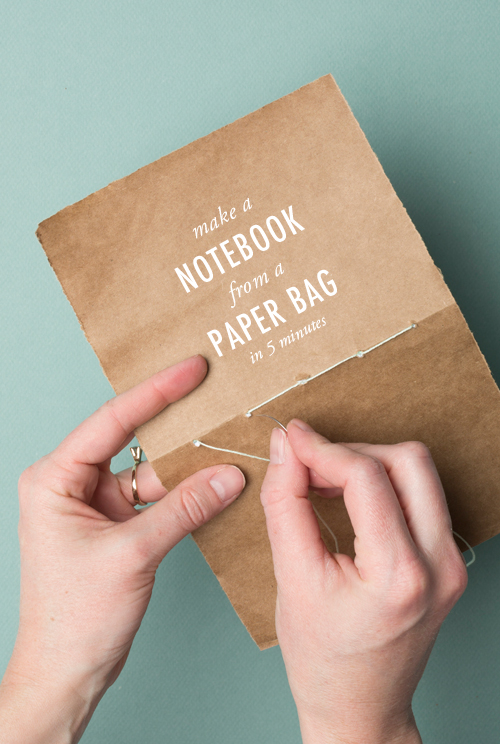 Use a paper bag to make it!