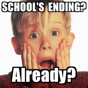 school-s-ending-already